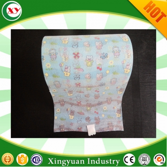 diaper Hook&Loop Brushed Magic frontal tape