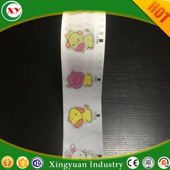 Tissue paper for pads raw materials