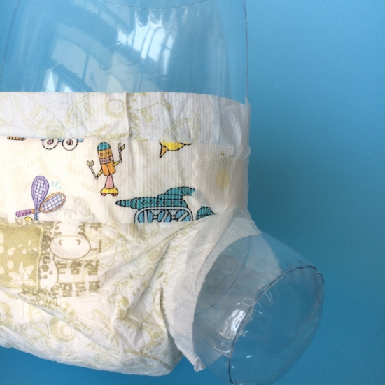 Private label printed baby diaper